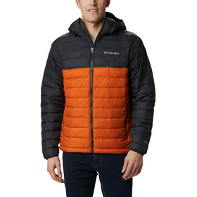 Columbia Powder Lite Kapuzenjacke Herren harvester/shark